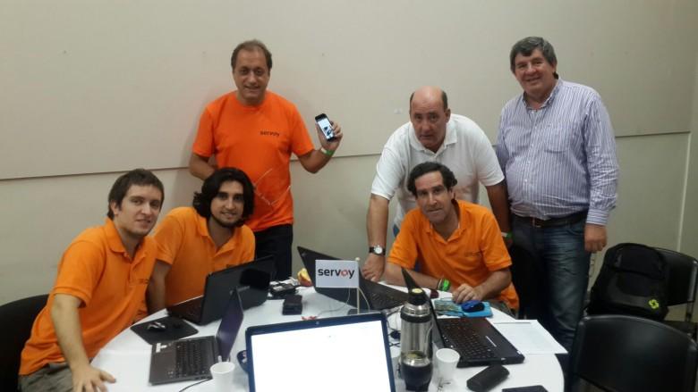 Participamos del Hackathon de EmprenDevs en Rosario, Argentina