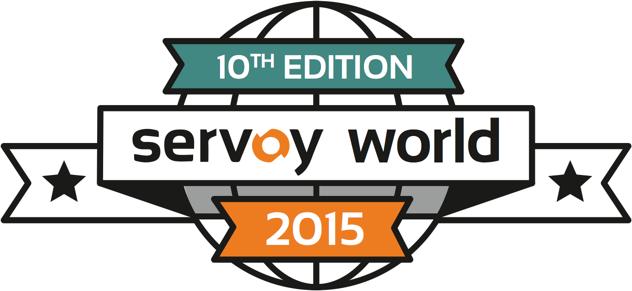 SERVOY WORLD 2015