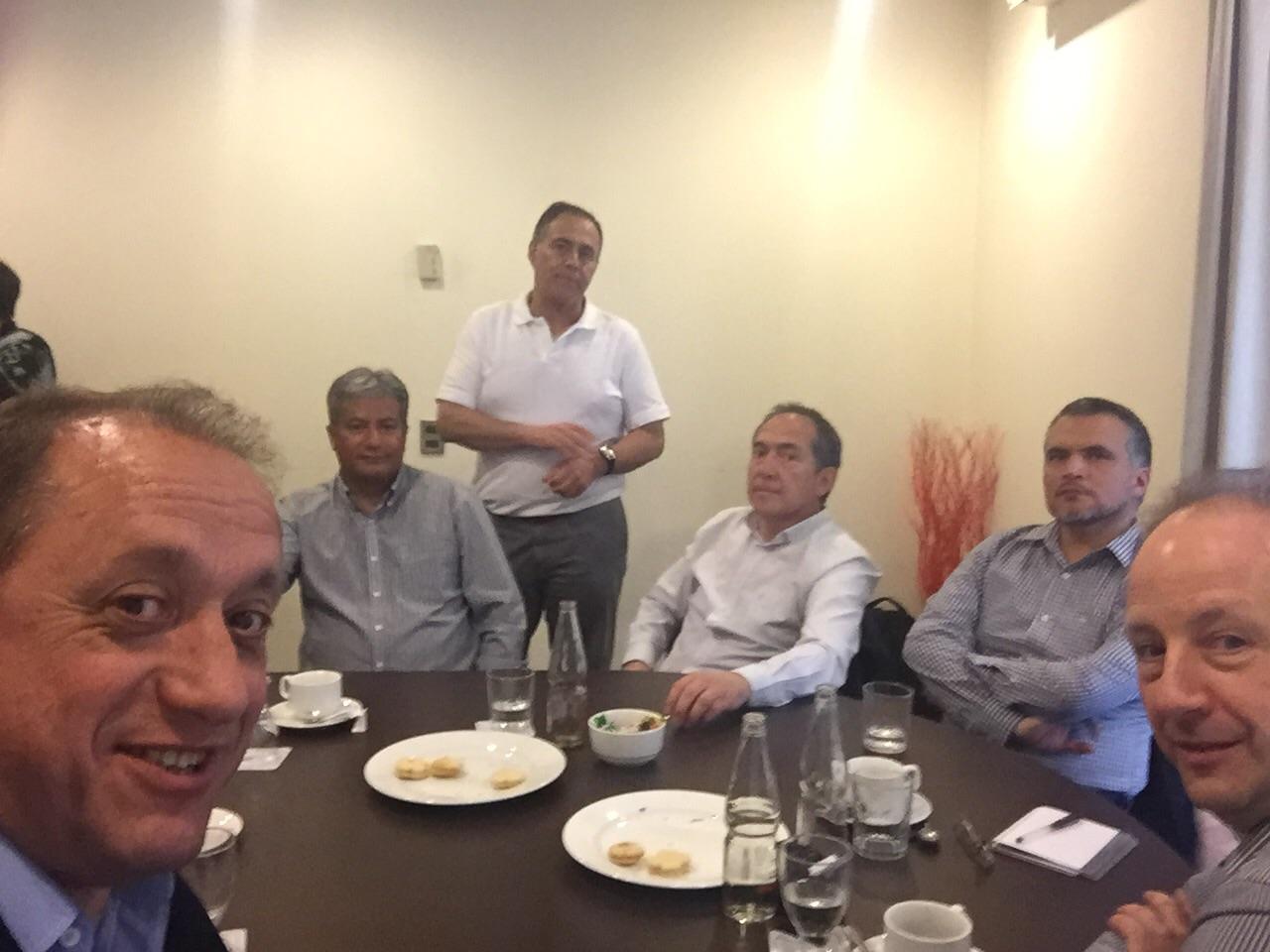 REUNION CON CLIENTES Y PARTNERS COBOL EN CHILE