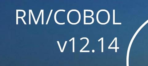 RM/COBOL 12.14 DISPONIBLE !